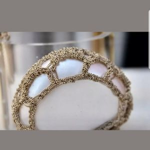 CHANEL Jewelry - limited edition CHANEL clear resin pearl cuff